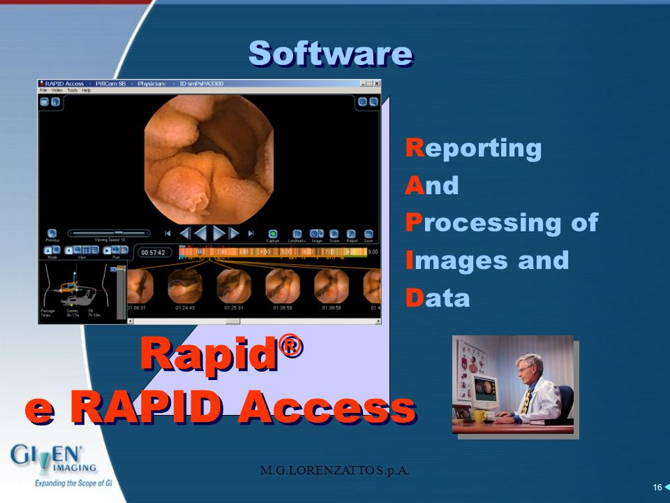 Rapid® e RAPID Access Software Reporting And Processing of Images and
