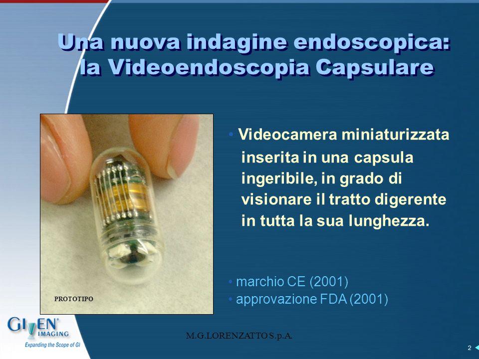Una nuova indagine endoscopica: la Videoendoscopia Capsulare