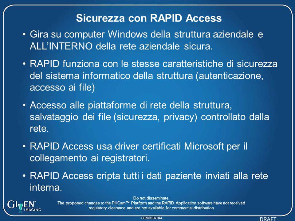 Sicurezza con RAPID Access