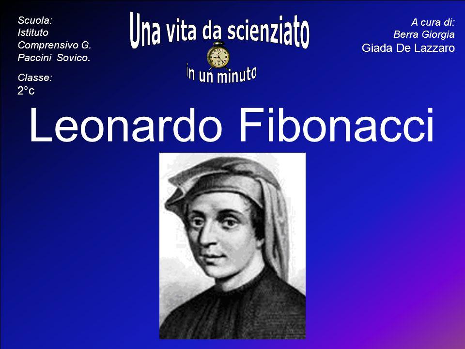 Leonardo Fibonacci Una vita da scienziato in un minuto