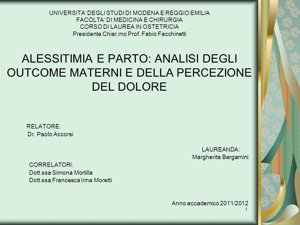 Dott.ssa Simona Mortilla Dott.ssa Francesca Irina Moretti