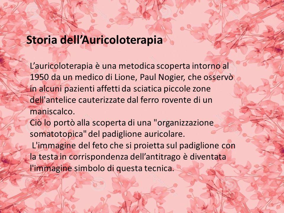 Storia dell'Auricoloterapia