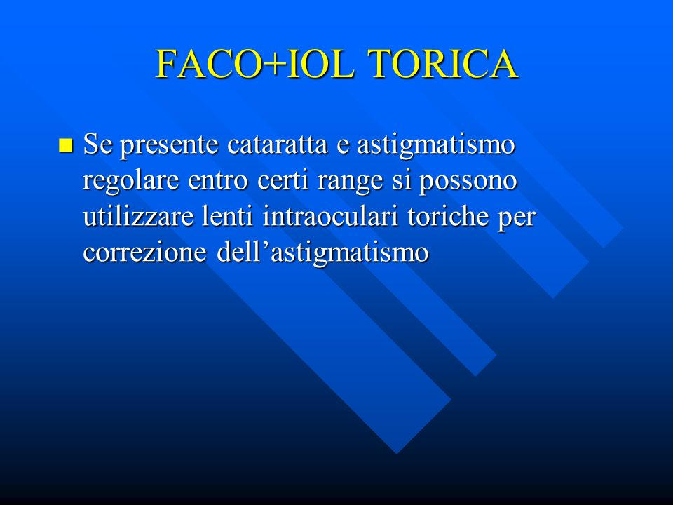 FACO+IOL TORICA