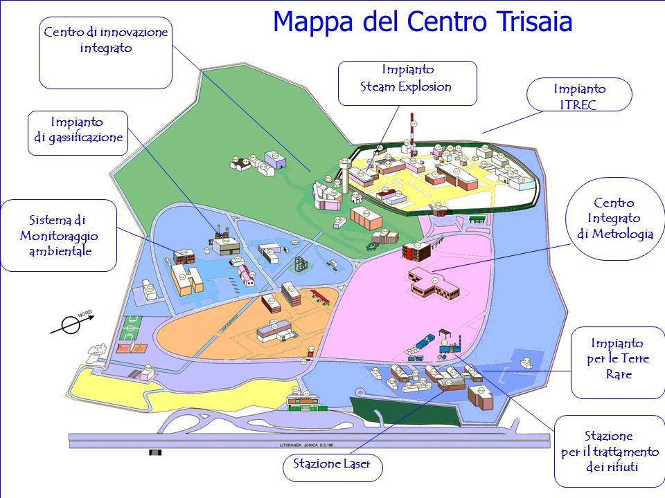 Mappa del Centro Trisaia