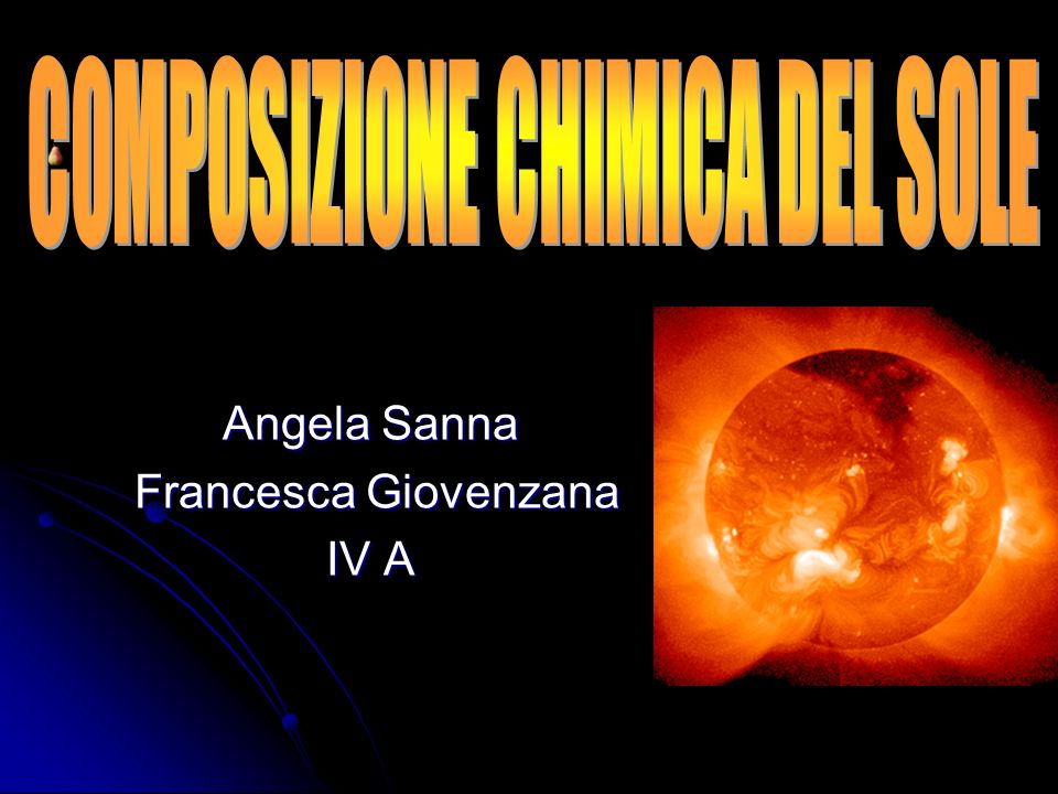 Angela Sanna Francesca Giovenzana IV A