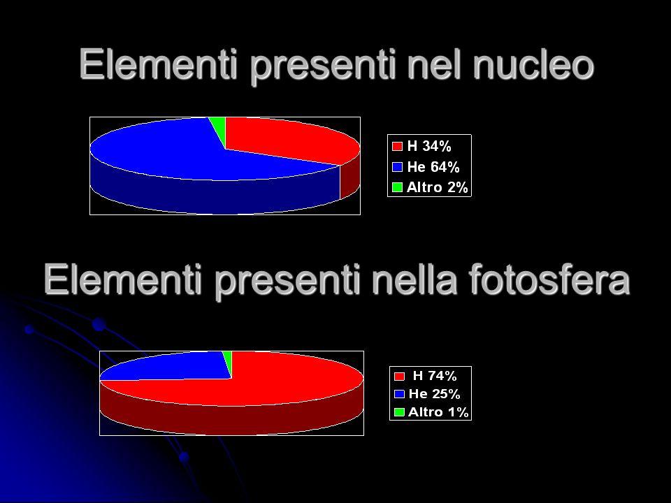 Elementi presenti nel nucleo