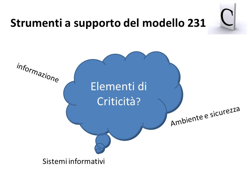 Strumenti a supporto del modello 231