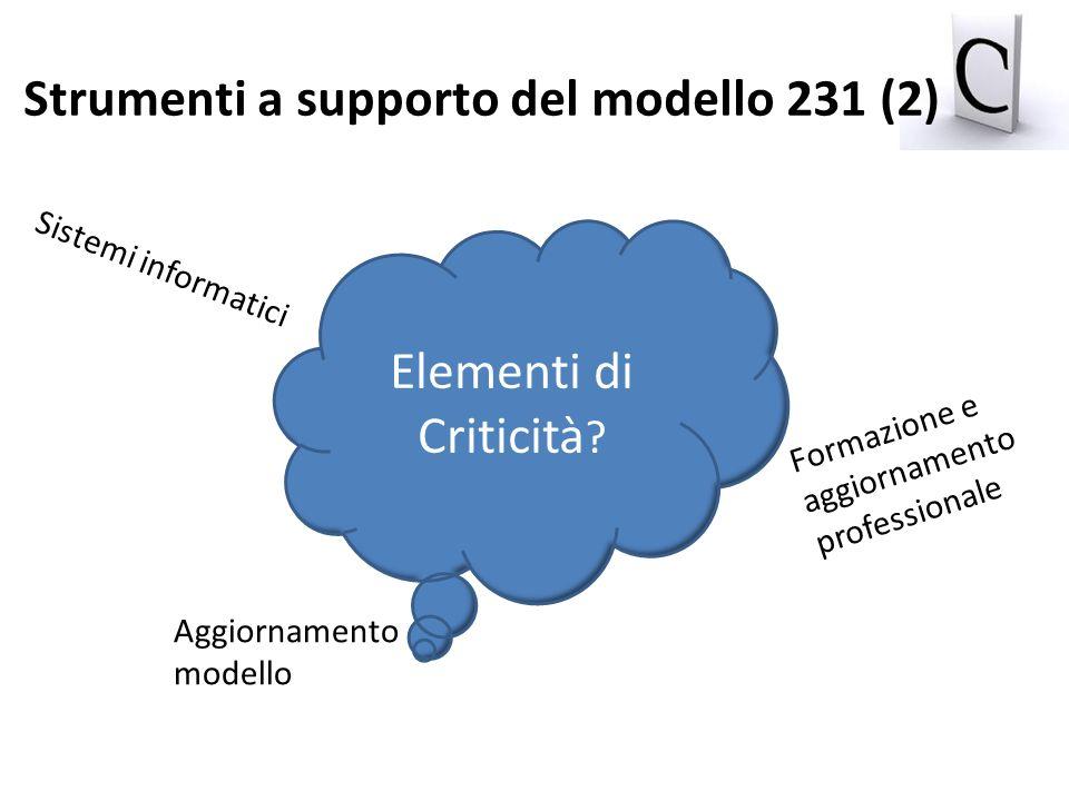 Strumenti a supporto del modello 231 (2)
