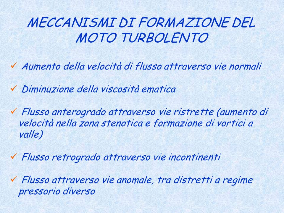 MECCANISMI DI FORMAZIONE DEL