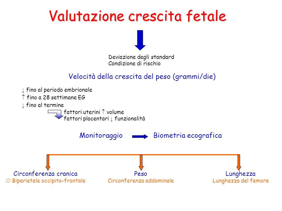 Valutazione crescita fetale