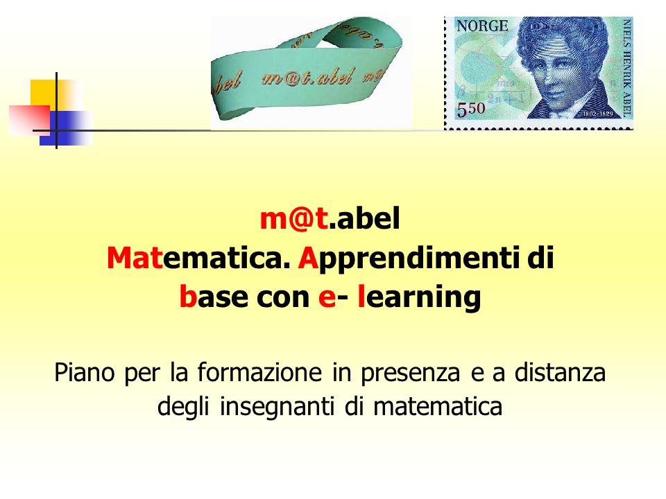 Matematica. Apprendimenti di