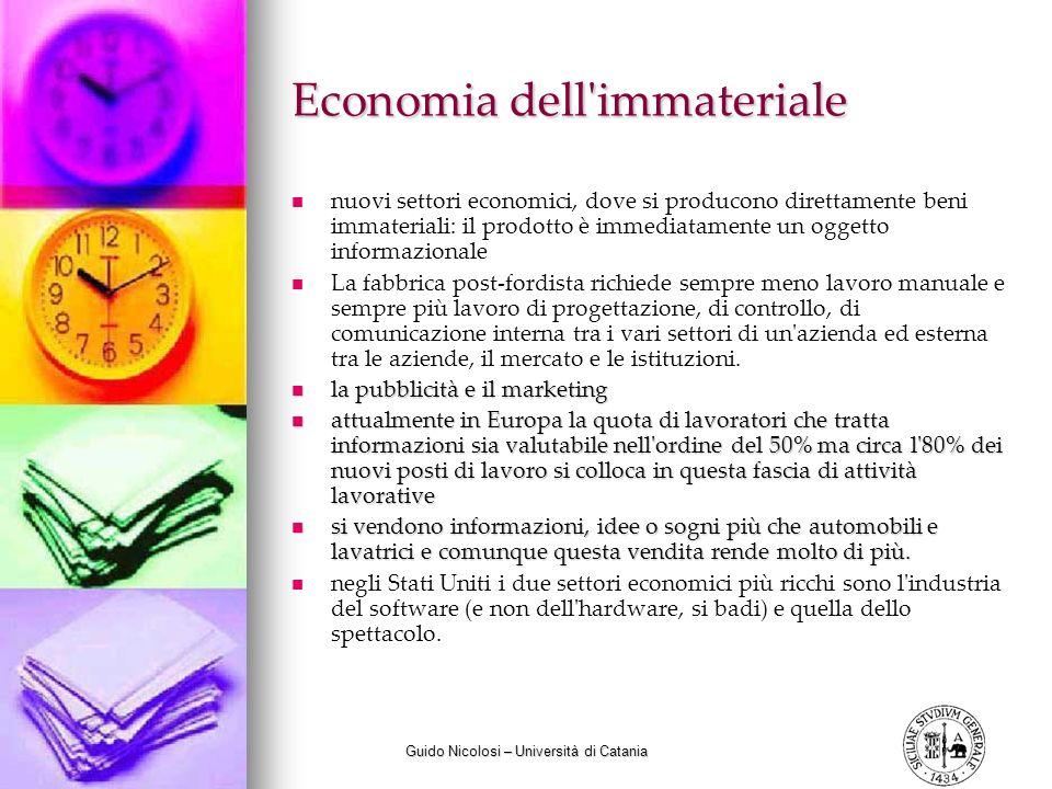 Economia dell immateriale