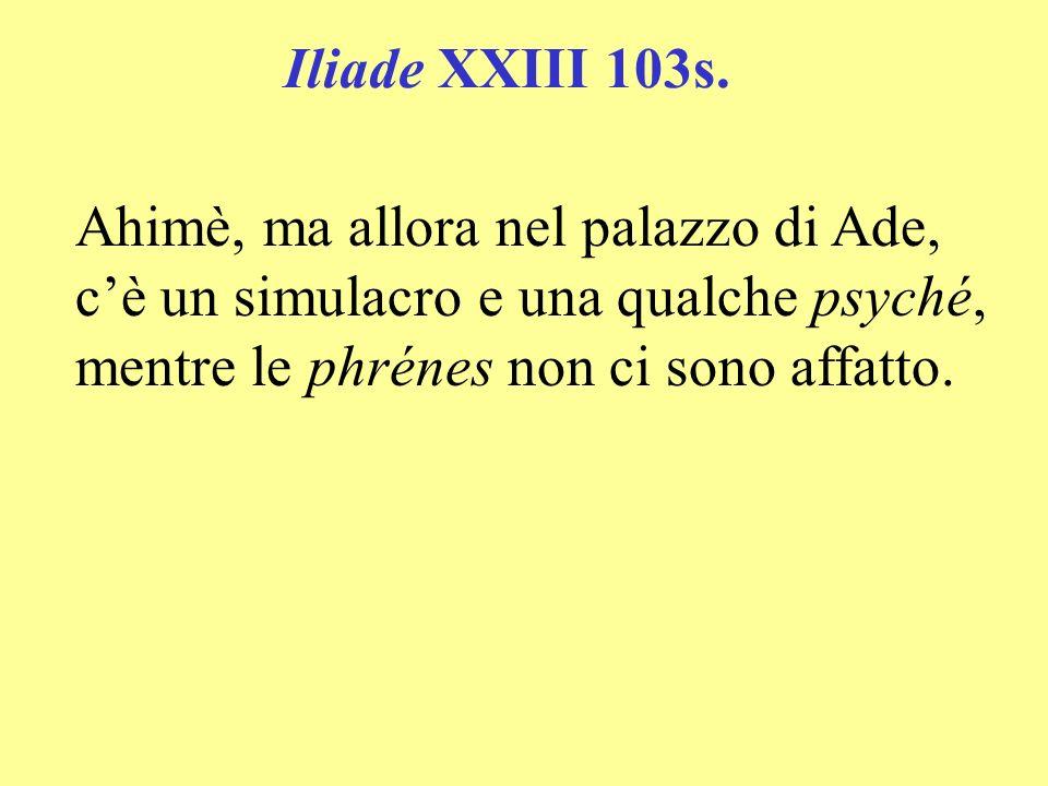 Iliade XXIII 103s.
