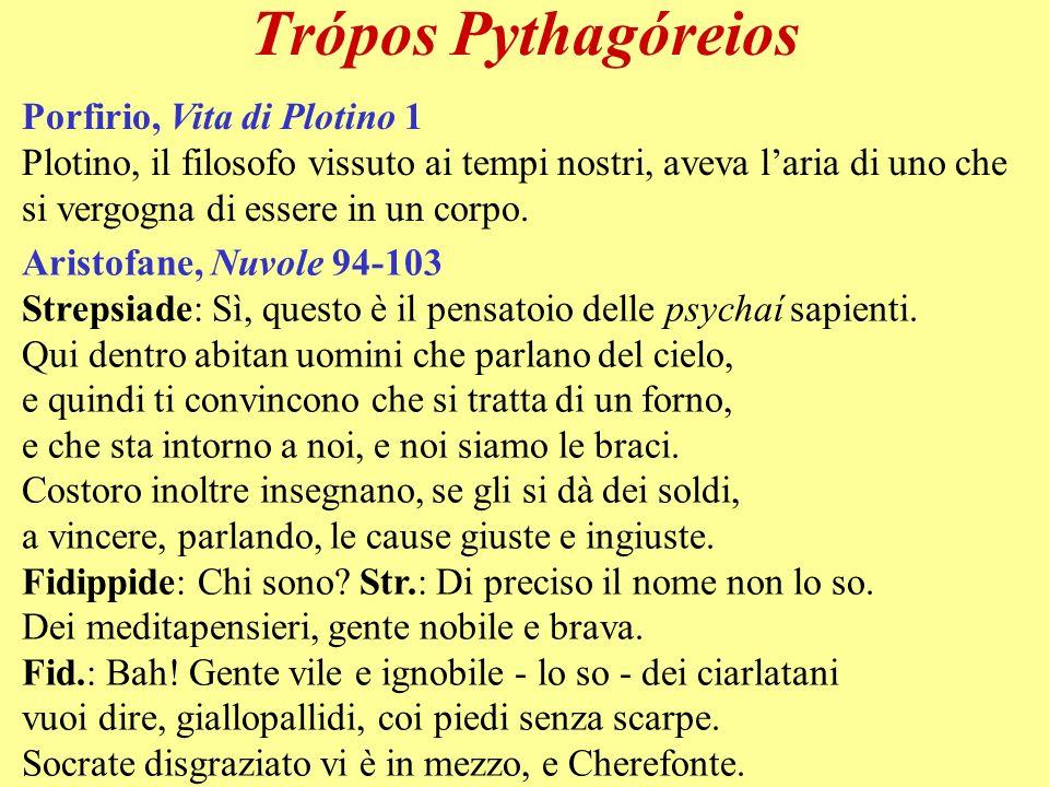Trópos Pythagóreios Porfirio, Vita di Plotino 1