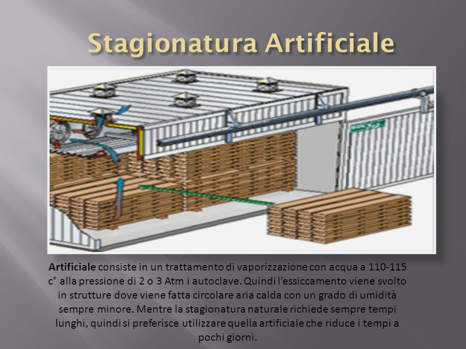 Stagionatura Artificiale