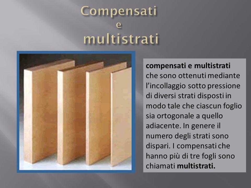 Compensati e multistrati