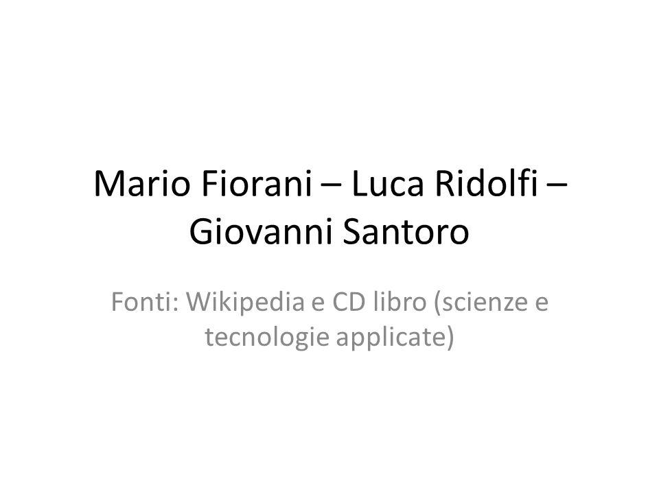 Mario Fiorani – Luca Ridolfi – Giovanni Santoro