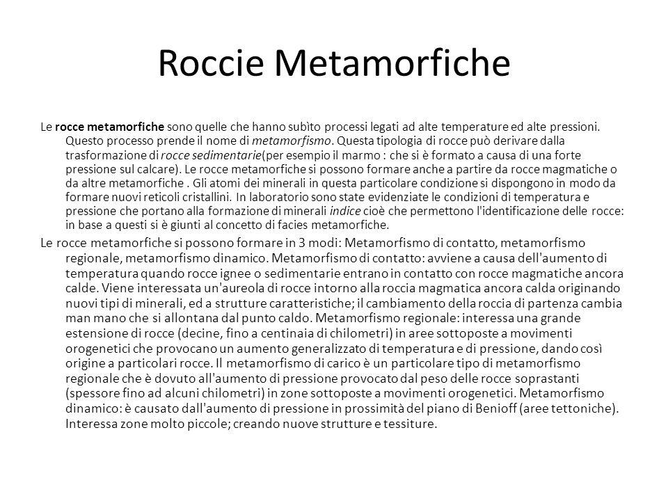 Roccie Metamorfiche