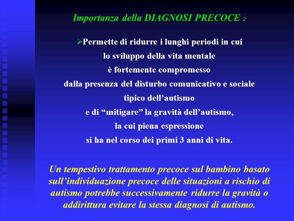 Importanza della DIAGNOSI PRECOCE 2