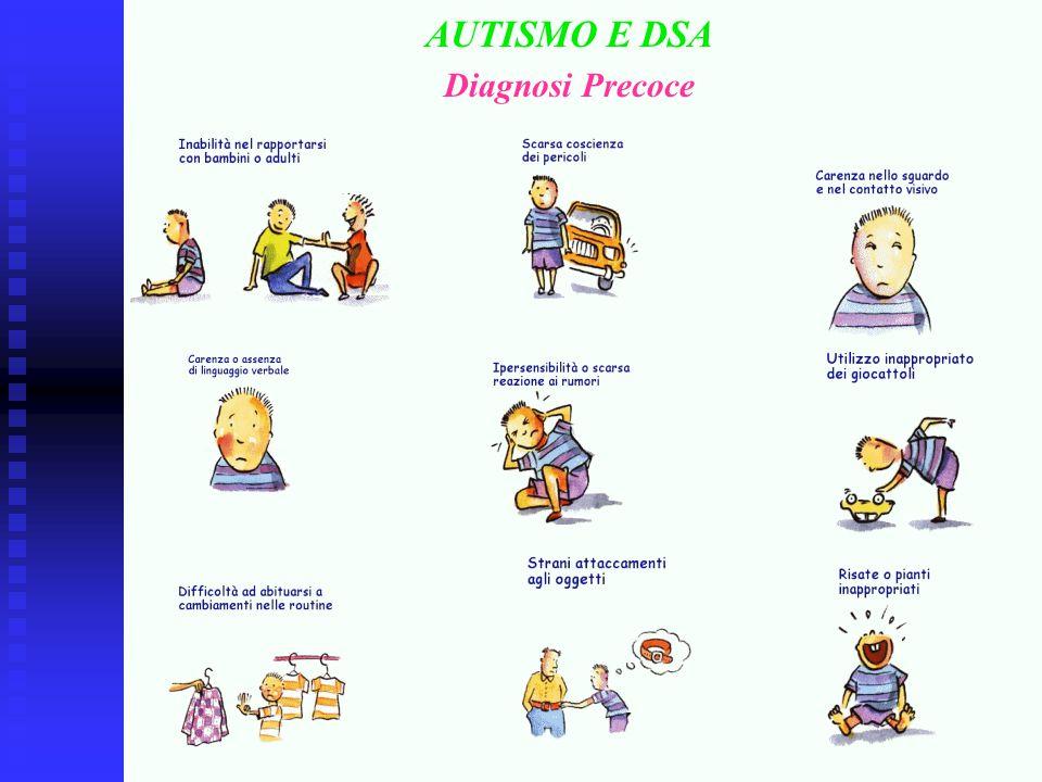 AUTISMO E DSA Diagnosi Precoce