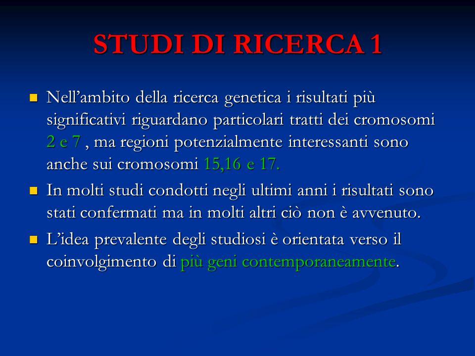 STUDI DI RICERCA 1