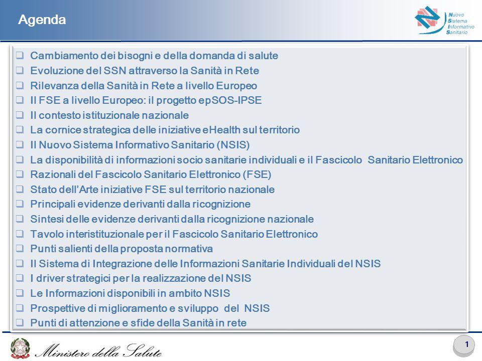 Cambiamento dei bisogni e della domanda di salute