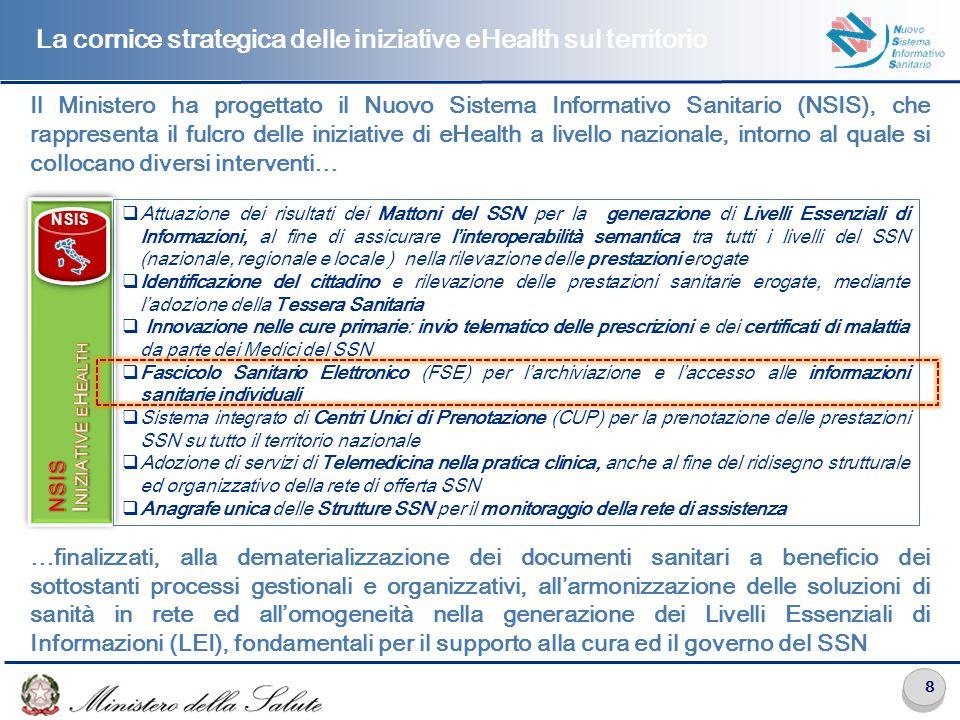 Il Nuovo Sistema Informativo Sanitario (NSIS)