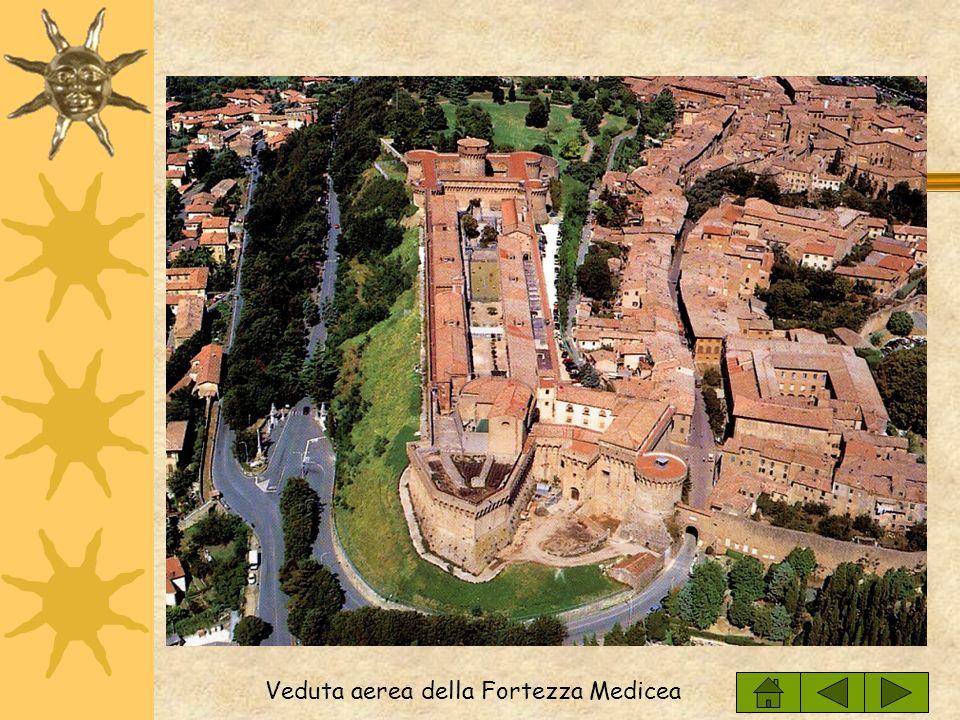 Veduta aerea della Fortezza Medicea