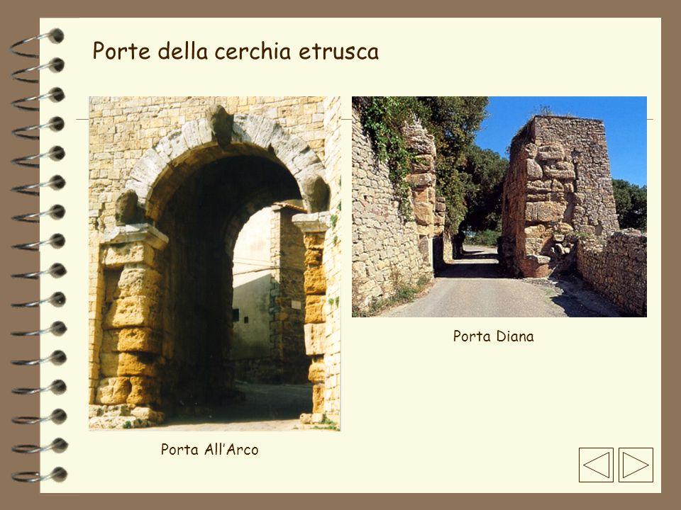 Porte della cerchia etrusca