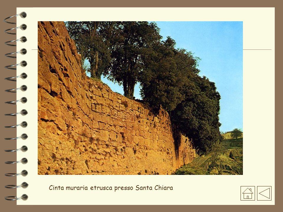 Cinta muraria etrusca presso Santa Chiara