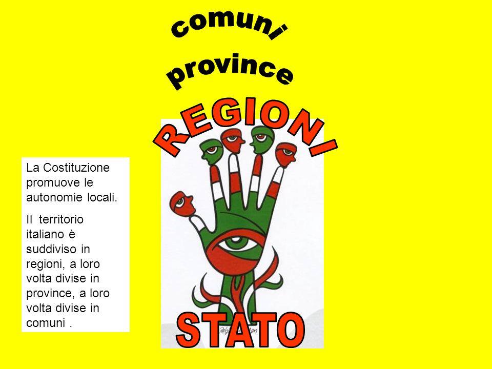 comuni province REGIONI STATO