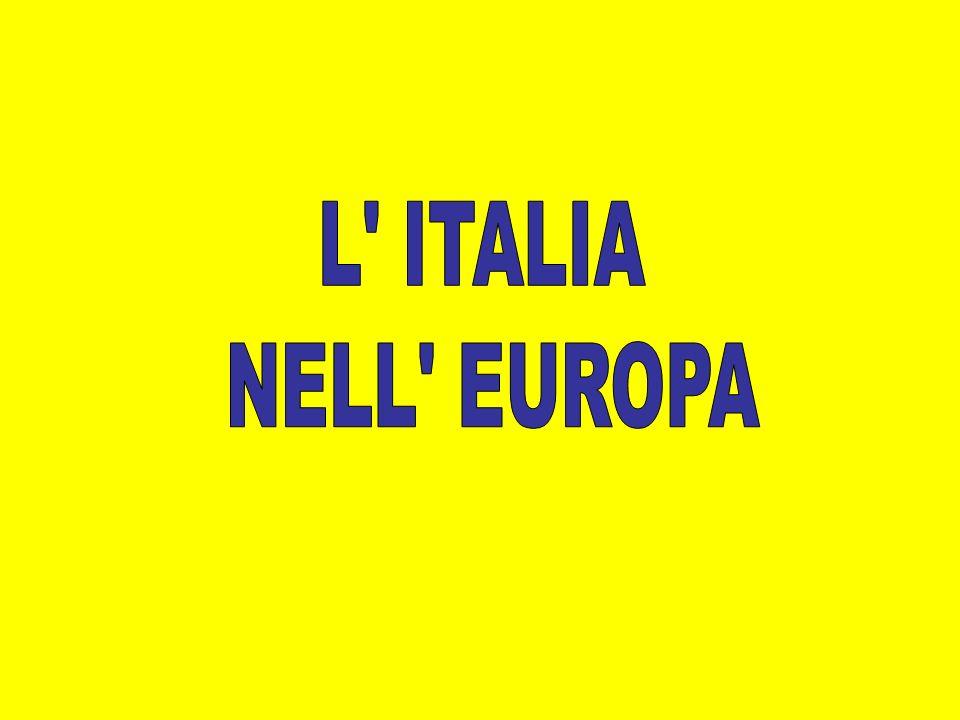 L ITALIA NELL EUROPA