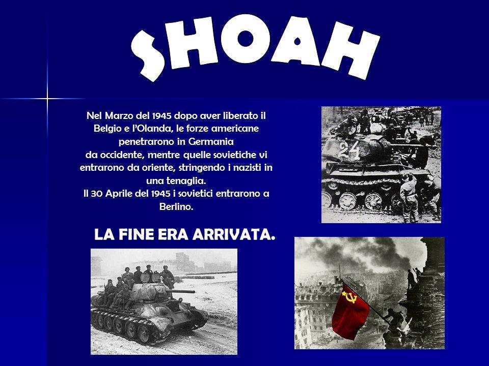 Il 30 Aprile del 1945 i sovietici entrarono a Berlino.