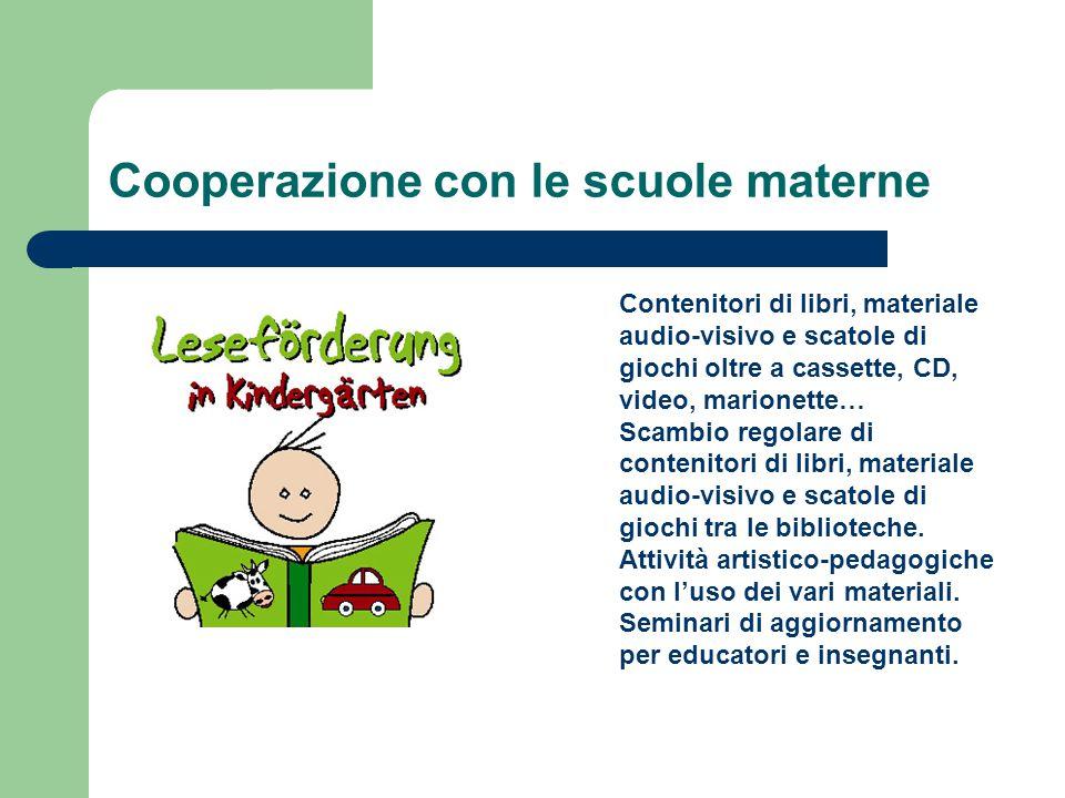 Cooperazione con le scuole materne