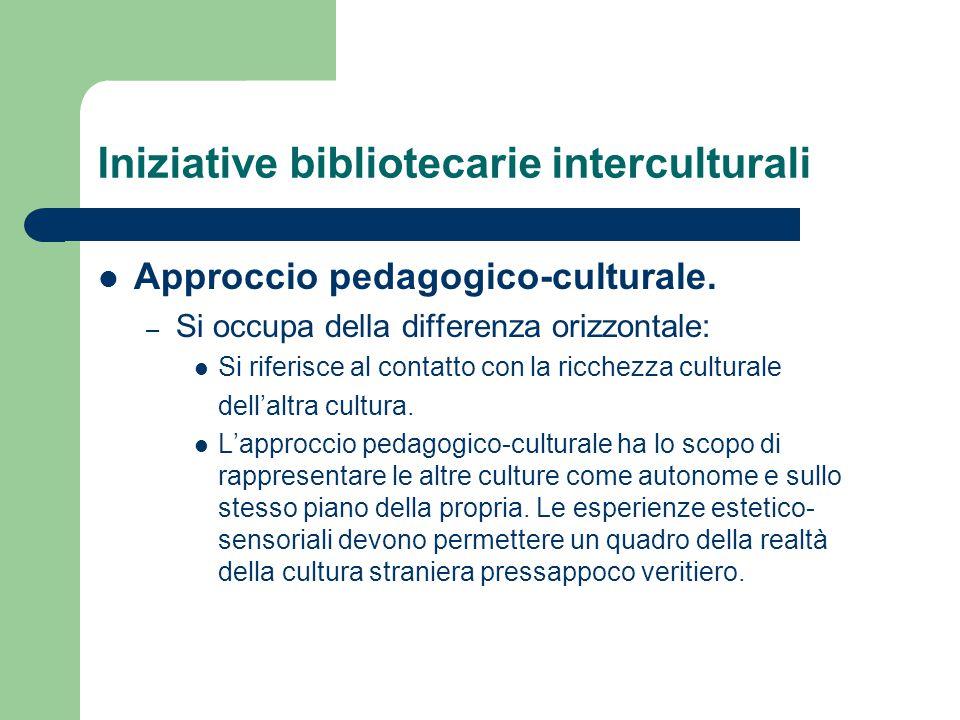 Iniziative bibliotecarie interculturali