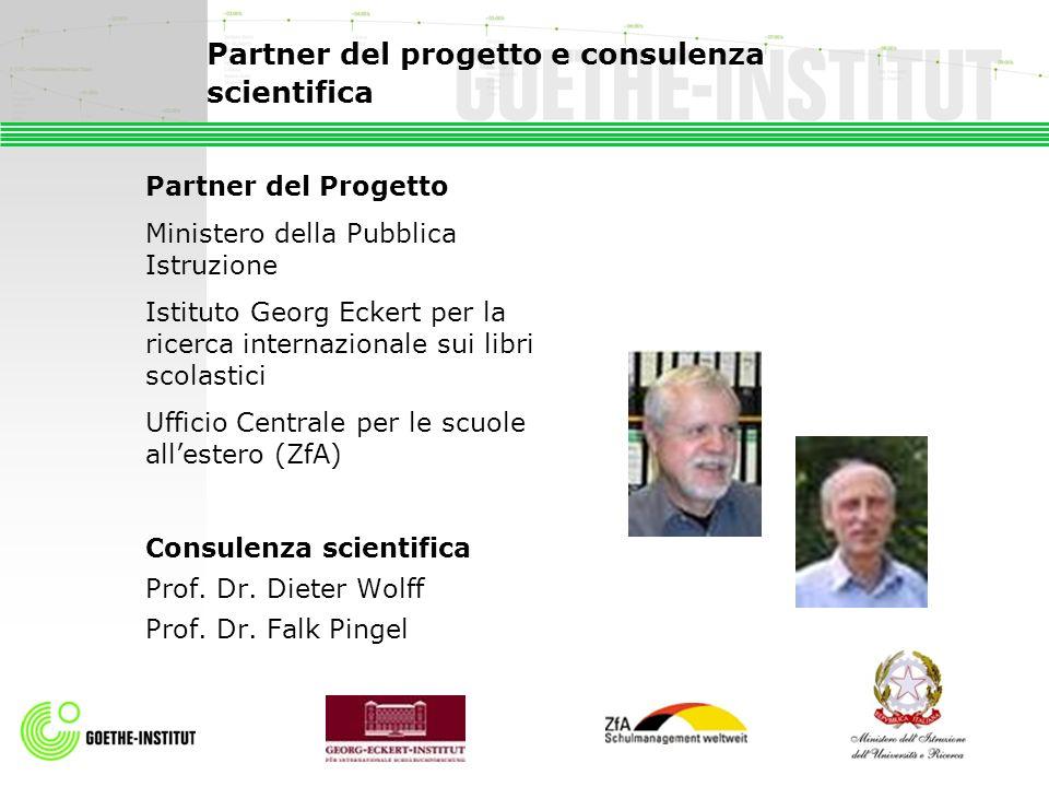 Partner del progetto e consulenza scientifica