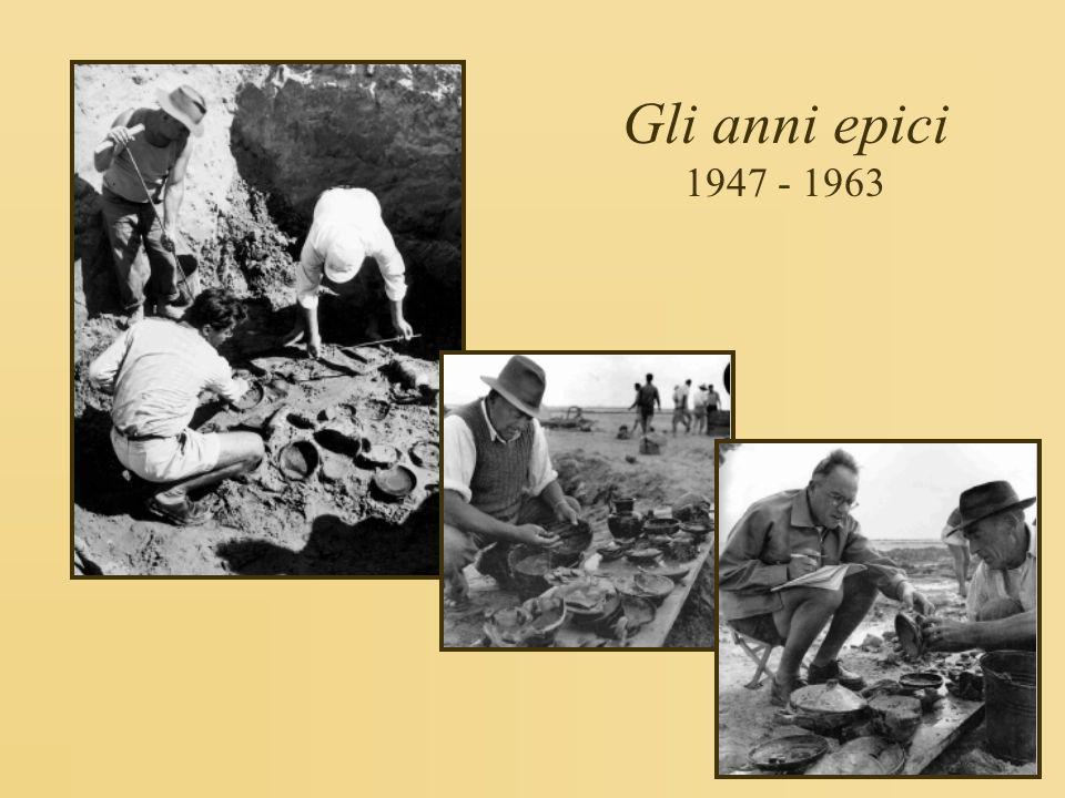 Gli anni epici 1947 - 1963