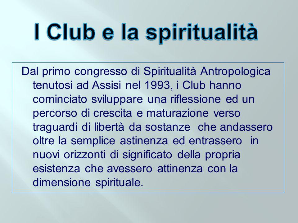 I Club e la spiritualità