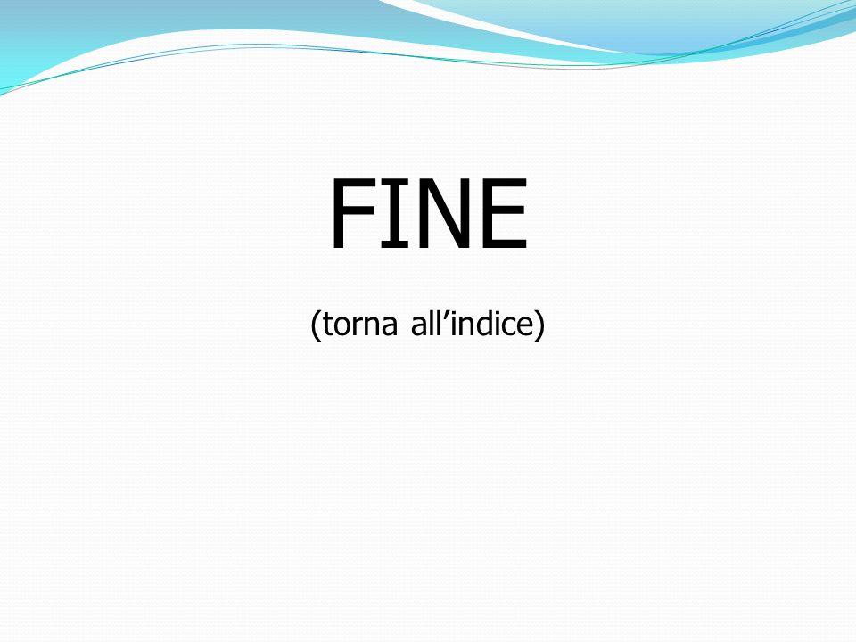 FINE (torna all'indice)