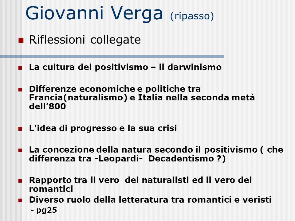 Giovanni Verga (ripasso)