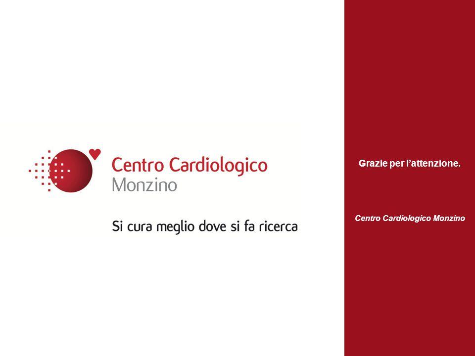 Grazie per l'attenzione. Centro Cardiologico Monzino