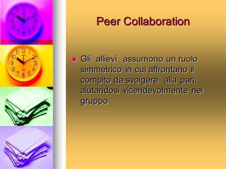 Peer Collaboration