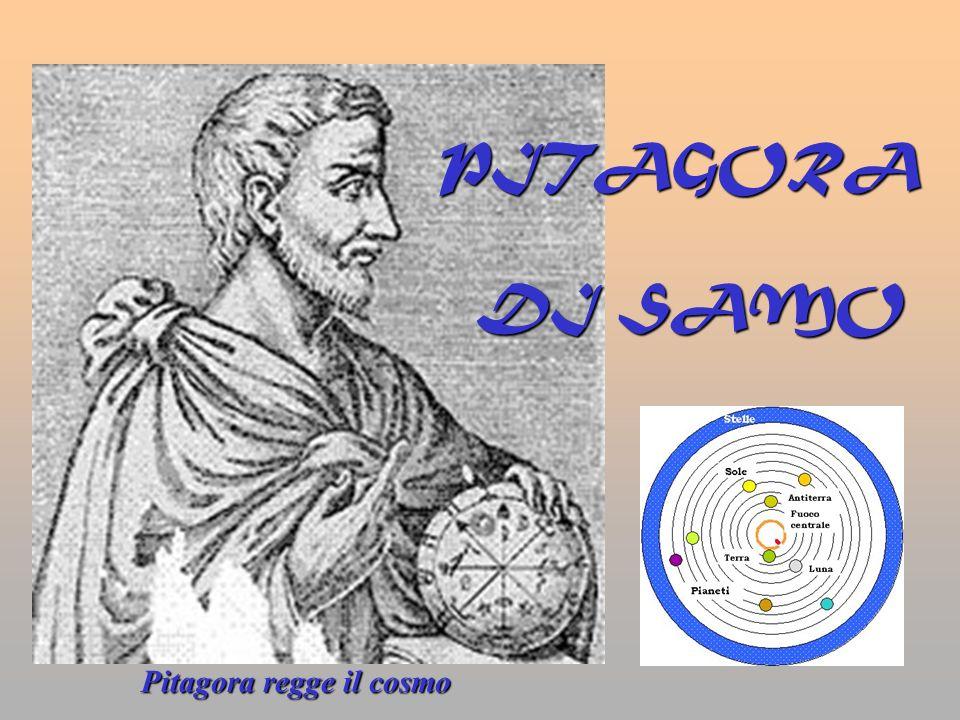 Pitagora regge il cosmo