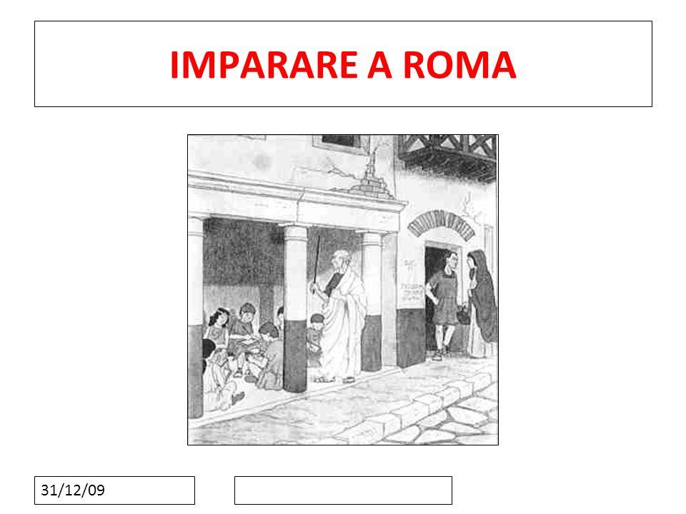 11 IMPARARE A ROMA 31/12/09