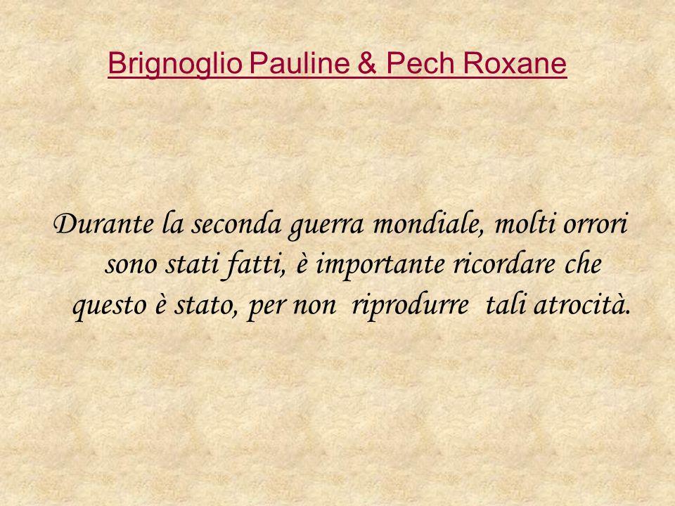 Brignoglio Pauline & Pech Roxane