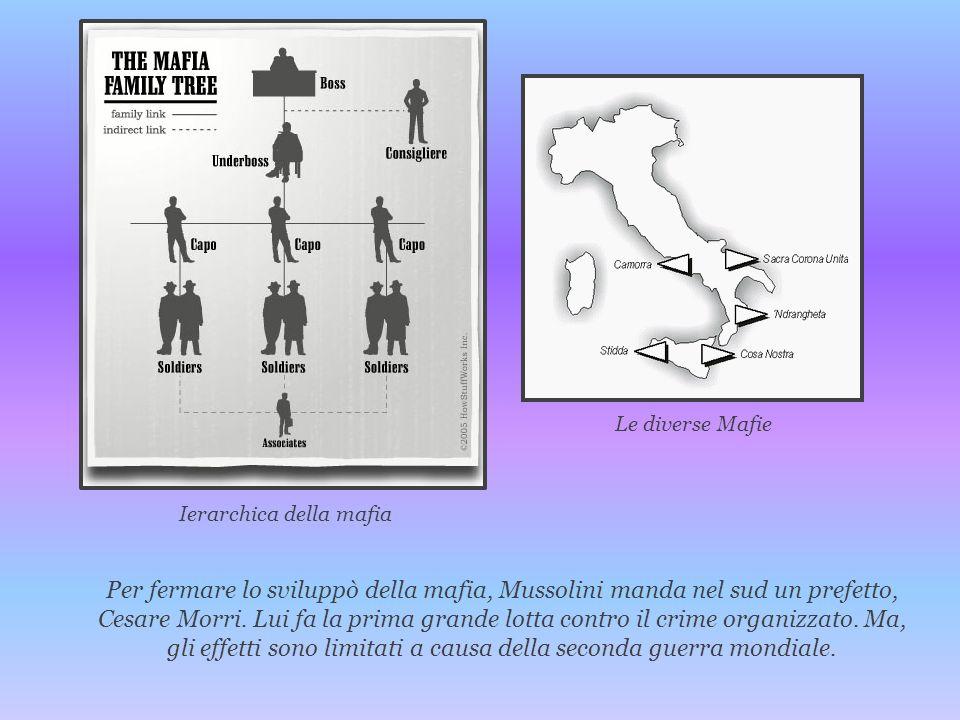 Ierarchica della mafia