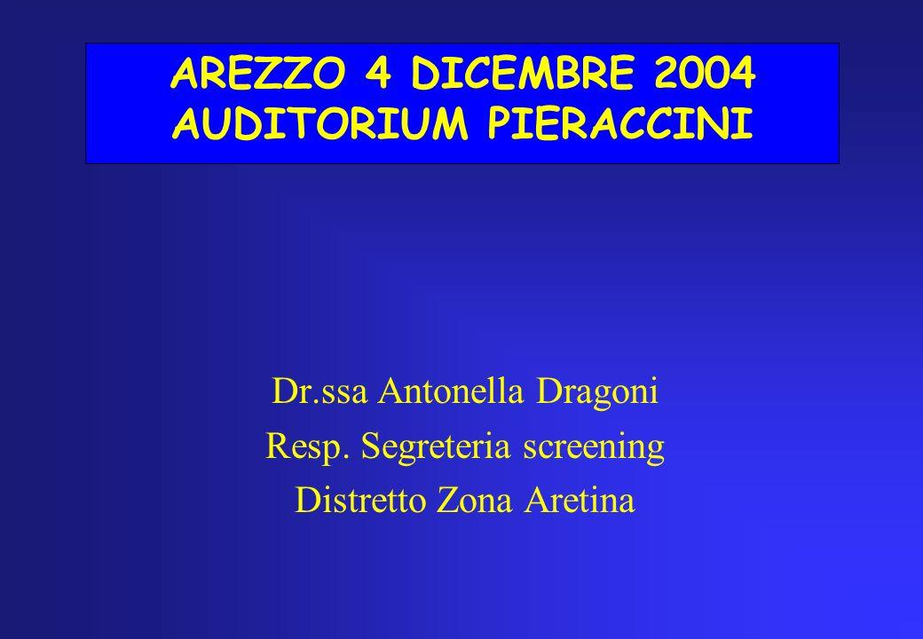 AREZZO 4 DICEMBRE 2004 AUDITORIUM PIERACCINI