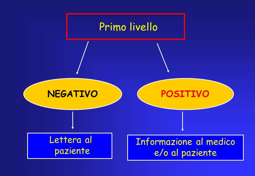 Informazione al medico e/o al paziente