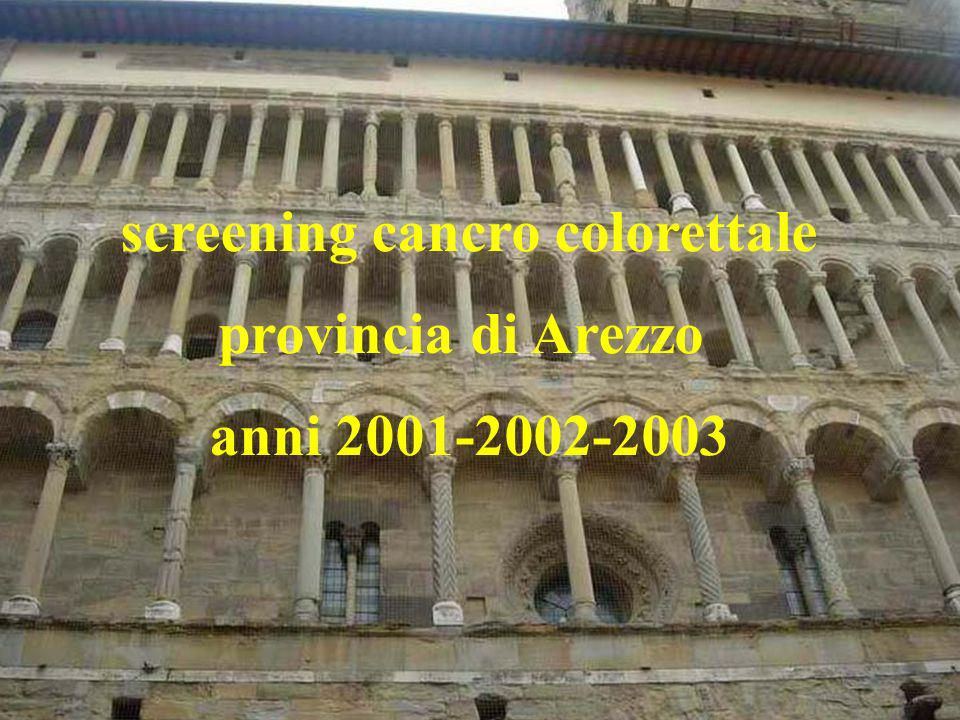 screening cancro colorettale