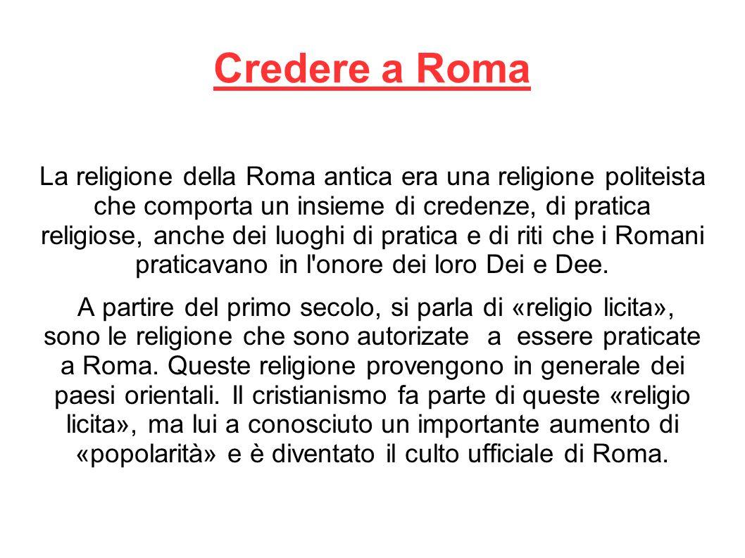 Credere a Roma